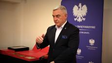 Marszałek województwa świętokrzyskiego Andrzej Bętkowski przemawia