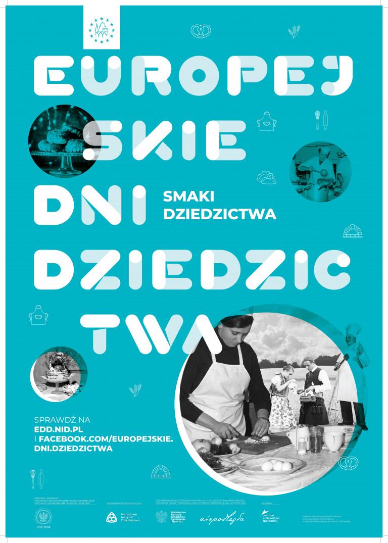 Plakat: Europejskie Dni Dziedzictwa