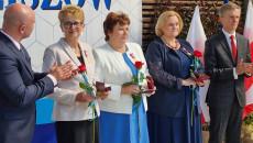 Samorządowcy z Sędziszowa odbierają medale