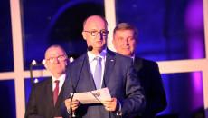 Wiceminister spraw zagranicznych Piotr Wawrzyk przemawia