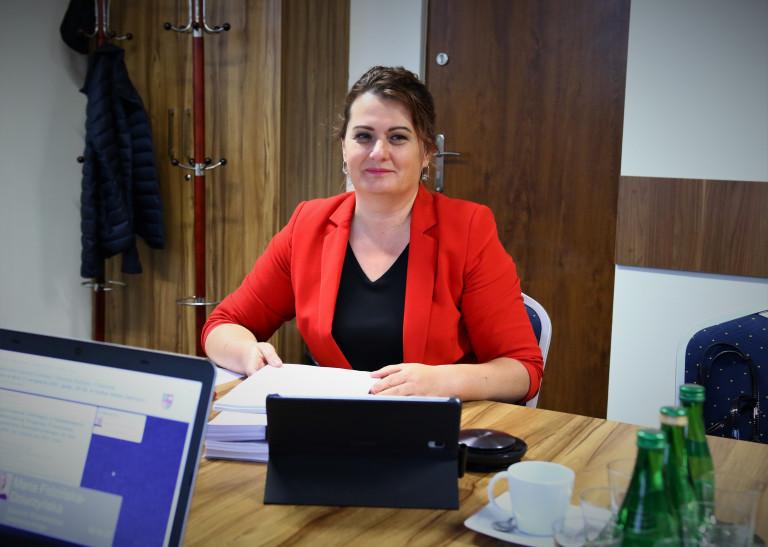 Magdalena Zieleń Przewodnicząca Komisji Budżetu I Finansów