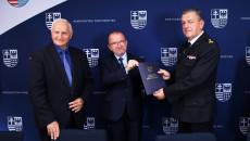 Marek Jońca, Marek Bogusławski,grzegorz Karwat, Komendant Powiatowy Państwowej Straży Pożarnej W Pińczowie