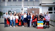 Młodzież Na Spotkaniu W Urzędzie Marszałkowskim W Kielcach