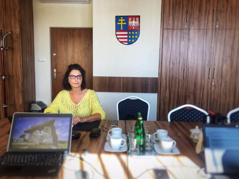 Przewodnicząca Komisji Rewizyjnej Agata Bińkowska