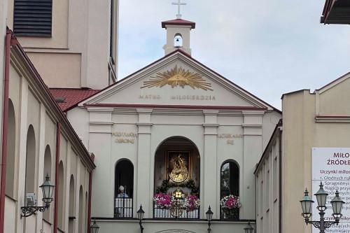 Sanktuarium Matki Bożej Ostrobramskiej W Skarżysku Kamiennej