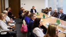 W Dyskusji Uczestniczyli Przedstawiciele Podmiotów Medycznych Oraz Uniwersytetu Jana Kochanowskiego