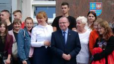Wicemarszałek Marek Bogusławski Z Młodzieżą