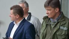 Wizyta Członków Rady Ns Budowie Ośrodka Edukacji Przyrodniczej W Umianowicach. (2)
