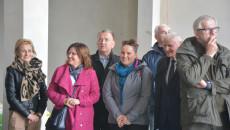 Wizyta Członków Rady Ns Budowie Ośrodka Edukacji Przyrodniczej W Umianowicach.