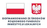 Baner Dofinansowano ze Środków Rządowego Funduszu Inwestycji Lokalnych