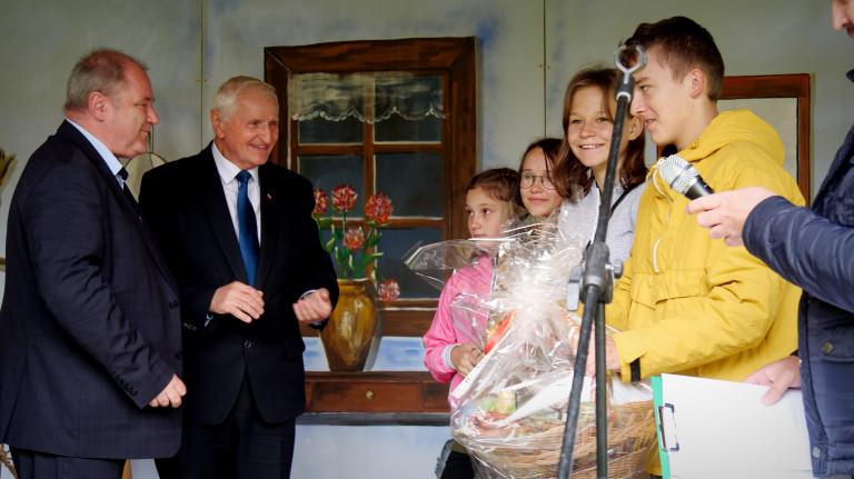 Członek Zarządu Marek Jońca, Dyrektor Muzeum Wsi Kielelckiej I Dzieci