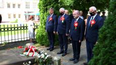 Członkowie Zarządu Województwa I Przewodniczący Sejmiku Przed Grobem Batrosza Głowackiego