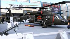 Helikopter Black Hawk Przed Halą Targów Kielce