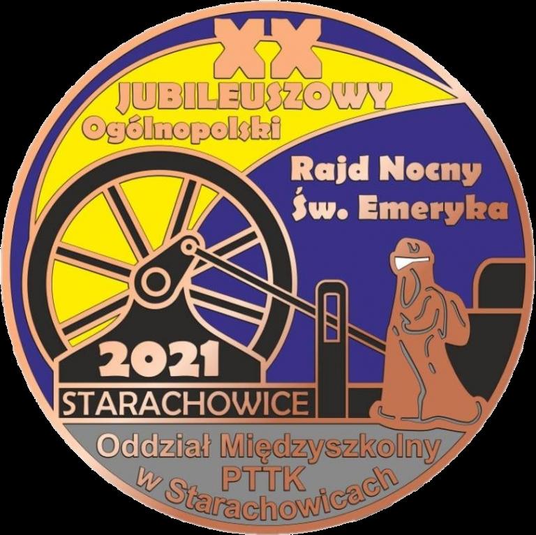 Logo Rajdu Z Kołem Wiatrowym Ze Starachowic