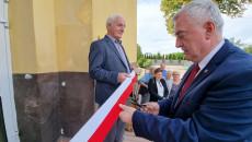 Marszałek Andrzej Bętkowski Przecina Wstęgę