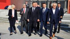 Prezydent Andrzej Duda, Minister Obrony Narodowej Mariusz Błaszczak I Inni Goście