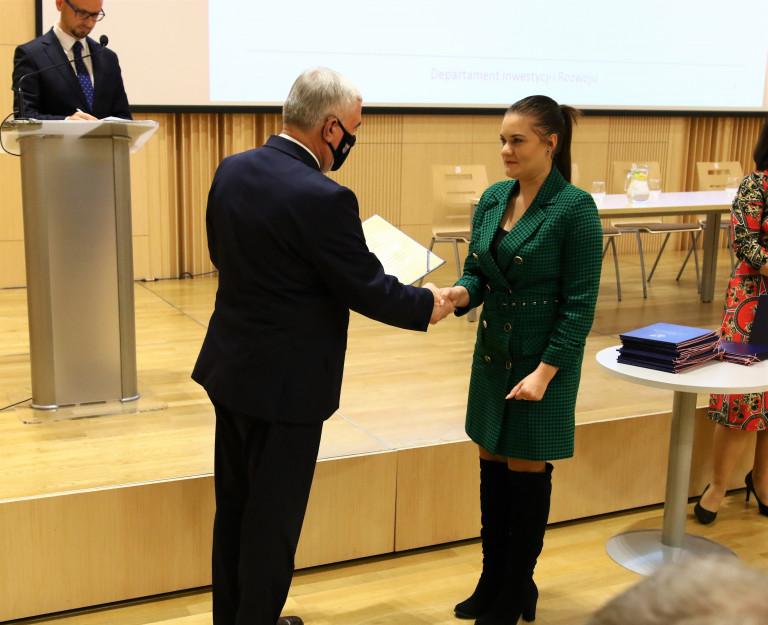 Przewodnicząca Młodzieżowego Sejmiku