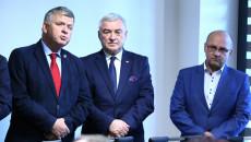 Senator Jarosław Rusiecki, Marszałek Andrzej Bętkowski I Burmistrz Suchedniowa Cezary Błach