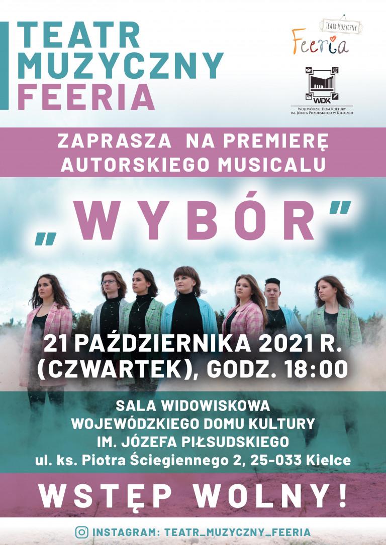 Plakat Zespołu Feeria.