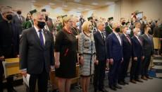 Uczestnicy Inauguracji Roku Akademickiego W Gronie Wicemarszałek Renata Janik