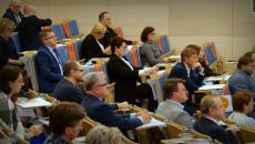 Uczestnicy Konsultacji Słuchają Prelegenta